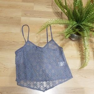 American Eagle lace croptop
